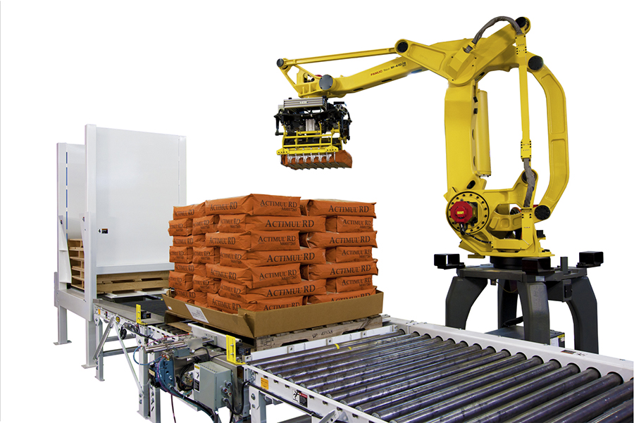 Robotic Palletizing System Trp 3000 Magnum Systems