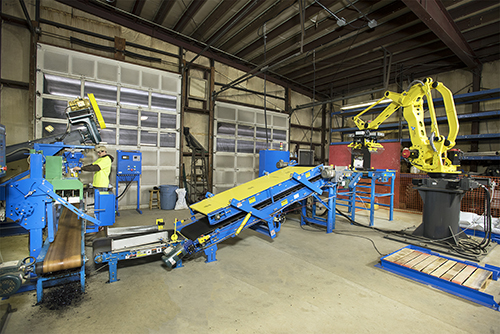 IAPO Full Line Bagging System with Palletizer