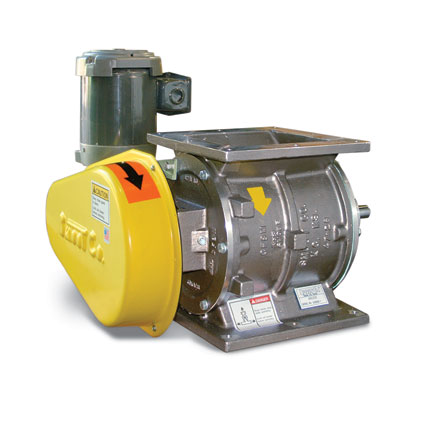 WHAT IS A ROTARY VALVE? WHAT IS AN AIRLOCK? WHAT IS A ROTARY AIRLOCK FEEDER?