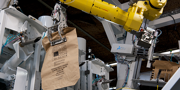 BE IN THE KNOW: ROBOTIC VALVE BAG PLACING