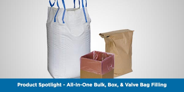 BULK, BOX, & VALVE BAG FILLING IN SINGLE PACKAGING STATION