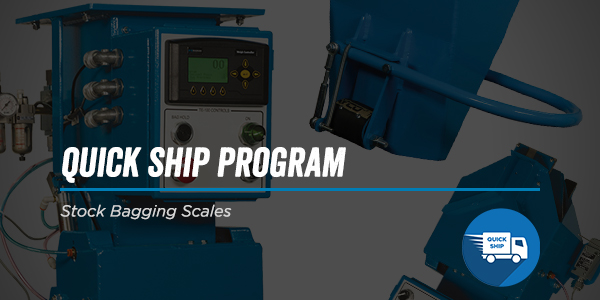Quick Ship Program – Stock Bagging Scales