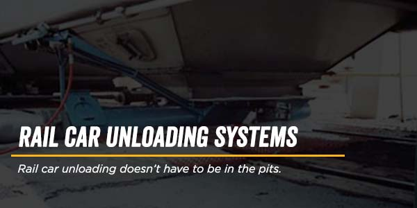 Rail car Unloading doesn't have to be in the Pits